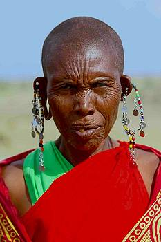 Masai woman by Beth Jacobs