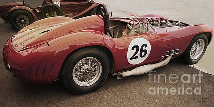 Maserati 450 S by Curt Johnson