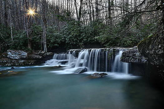 Mash Fork Falls by Jeff Burcher