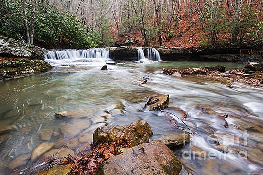 Mash Fork Falls by Mel Petrey