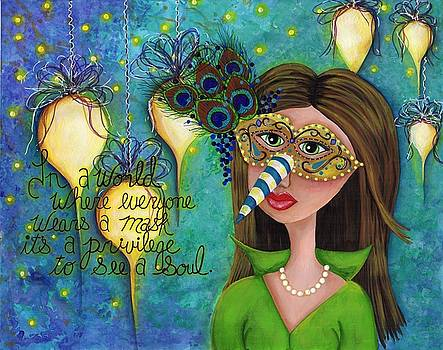 Mask by Clover Moon Designs Peggy Sowers-Heckman