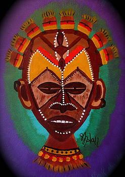 Mask IV by Sheila J Hall