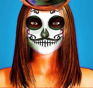 Mask by Kamou Fleur