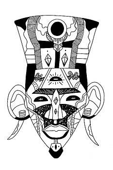 Mask No. 6 by Kenal Louis