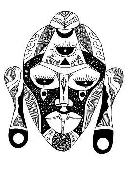 Mask No. 7 by Kenal Louis