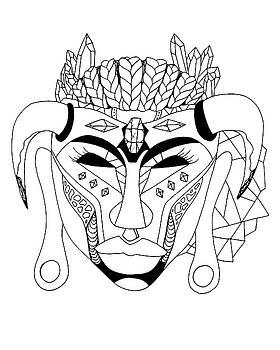 Mask No.10 by Kenal Louis