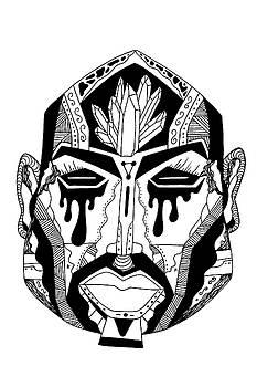Mask No.9 by Kenal Louis