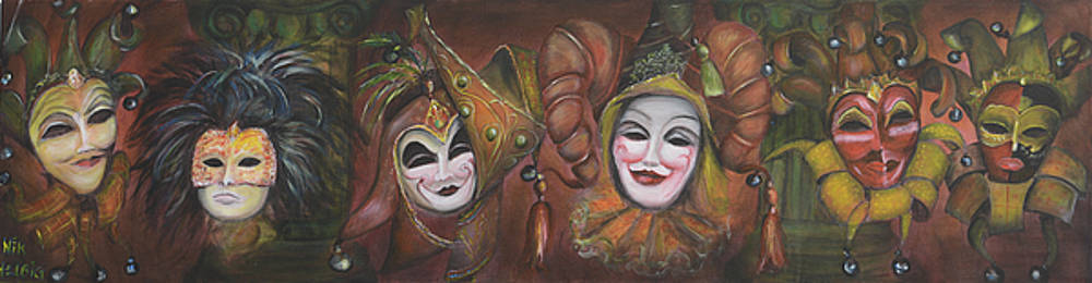 Nik Helbig - Mask Row