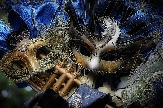 Masked Twins by Amanda Eberly-Kudamik