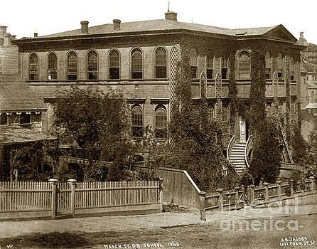 California Views Mr Pat Hathaway Archives - Mason Street, Grammar School, San Francisco 1866