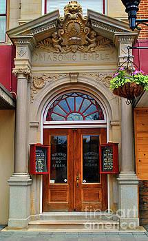 Jost Houk - Masonic Temple Doors
