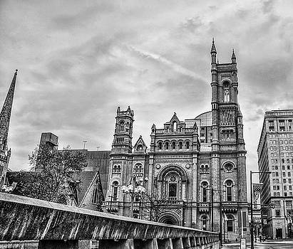 Masonic Temple in Black and White - Philadelphia by Bill Cannon