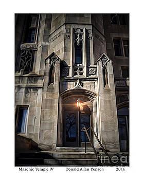 Masonic Temple IV by Donald Yenson