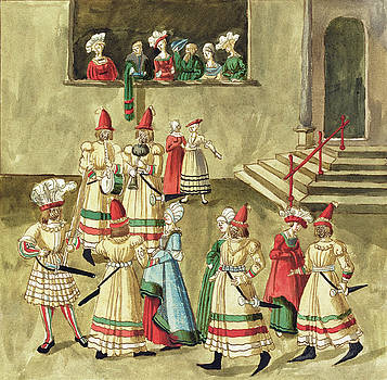 German 16th Century -  Masquerade #2