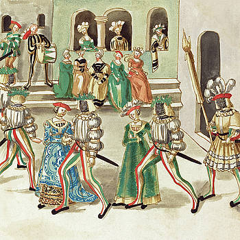 German 16th Century -  Masquerade #3