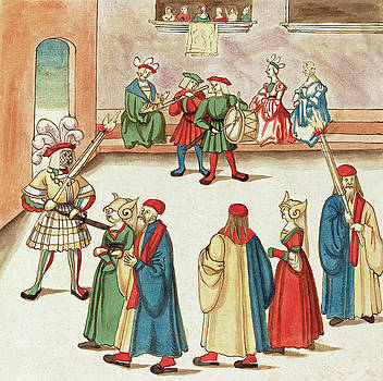 German 16th Century -  Masquerade #4