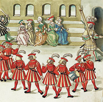 German 16th Century -  Masquerade #6
