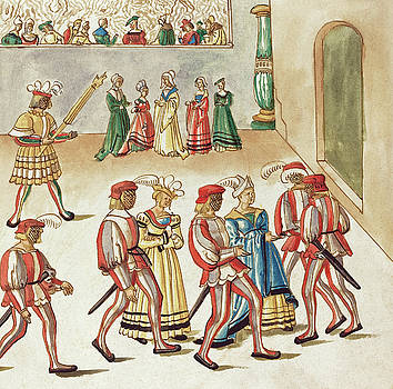German 16th Century -  Masquerade #7