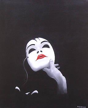 Masquerade by Kenneth-Edward Swinscoe