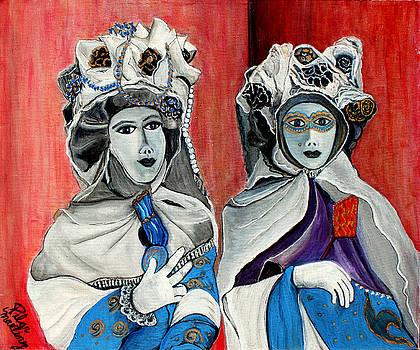 Masquerade by Pilar  Martinez-Byrne