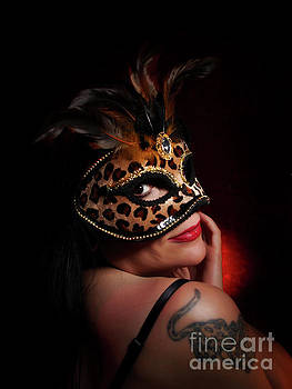 Masquerade Smile by Dorothy Lee
