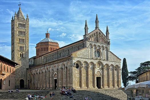 Massa Marittima Cathedral by Joachim G Pinkawa