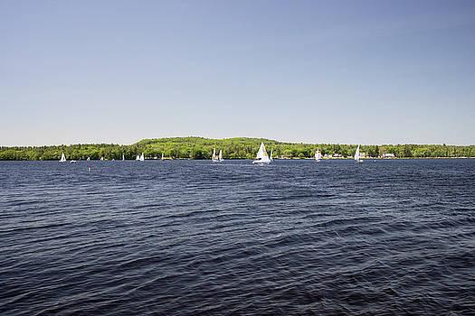 Massabesic Lake Regatta by New England Photographic