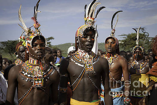 Massai Warriors by Eliza Massey