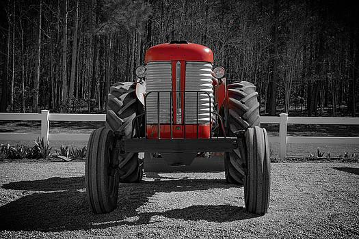Massey Ferguson Farm Tractor by Henri Irizarri