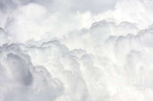 Massive cumulus clouds by Jan Brons