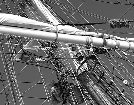 Mast and Lines by Nicole Madie