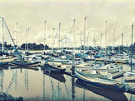 Mast Reflection by Brad Hodges