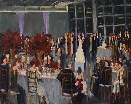 Mastrangelo-Warren Wedding, Speed Art Museum, Loiuisville, KY, www.ronaldbayens.com by Ronald Bayens