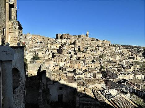 Matera Ancient City by Laurie Morgan