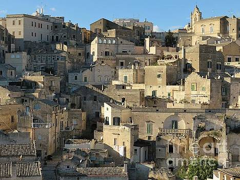 Matera Stones by Laurie Morgan