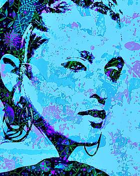 Material Girl Blue by Brian Broadway
