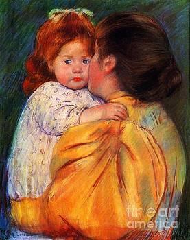 Cassatt - Maternal Kiss