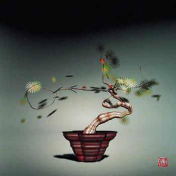 Math Bonsai 1 by GuoJun Pan