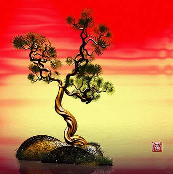 Math Pine 1 by GuoJun Pan