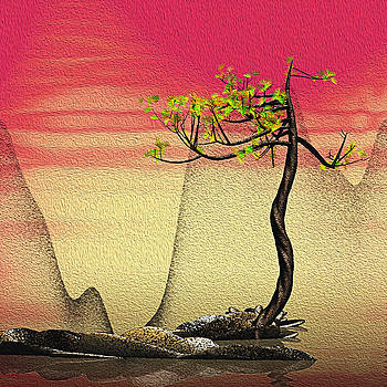 Math Pine 2 by GuoJun Pan
