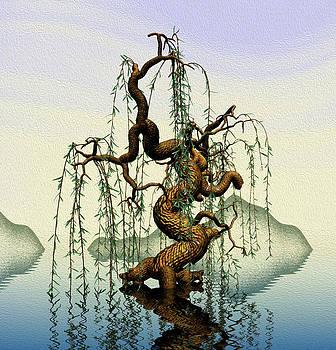 Mathematics willow by GuoJun Pan