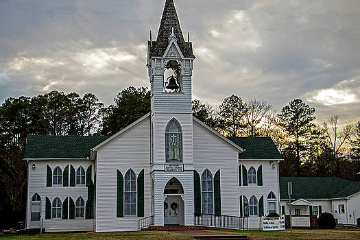 Mathews Baptist Church by Jean Haynes