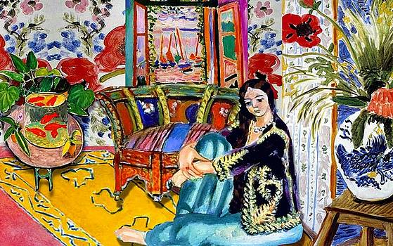 Matisse's Open Room by Laura Botsford