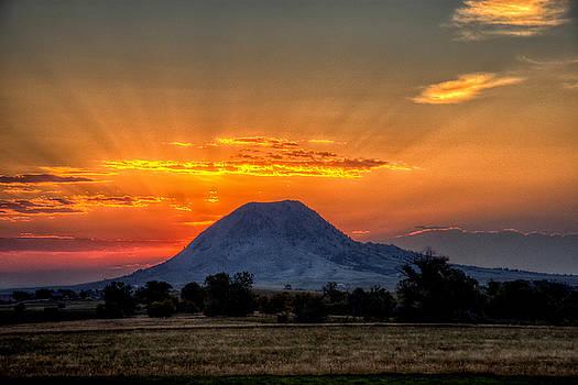 Mato Paha, the Sacred Mountain by Fiskr Larsen