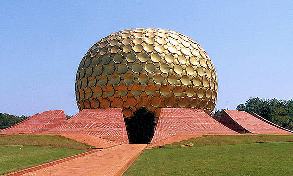 Matrimandir - Temple of The Mother by Steve Rudolph
