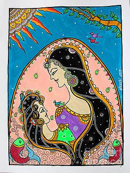 Matritwa - Growing Together in Madhubani by Shachi Srivastava
