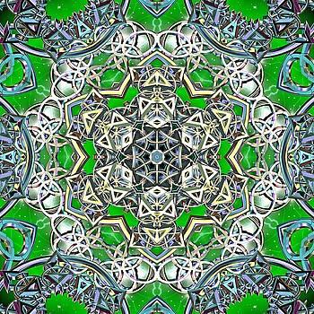 Matrix Hologram by Derek Gedney