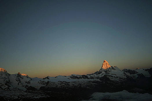 Matterhorn at sunrise by Christine Amstutz