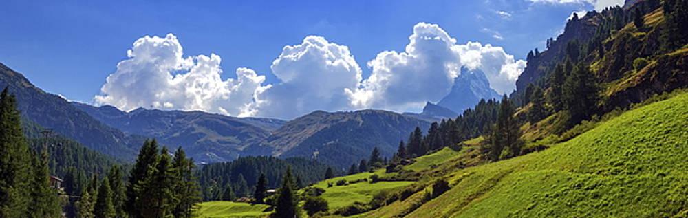 Elenarts - Elena Duvernay photo - Matterhorn landscape, Switzerland