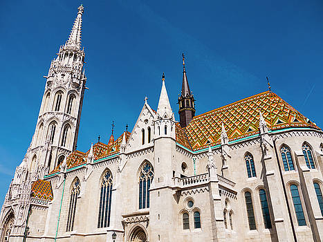 Matthias Church by Rae Tucker